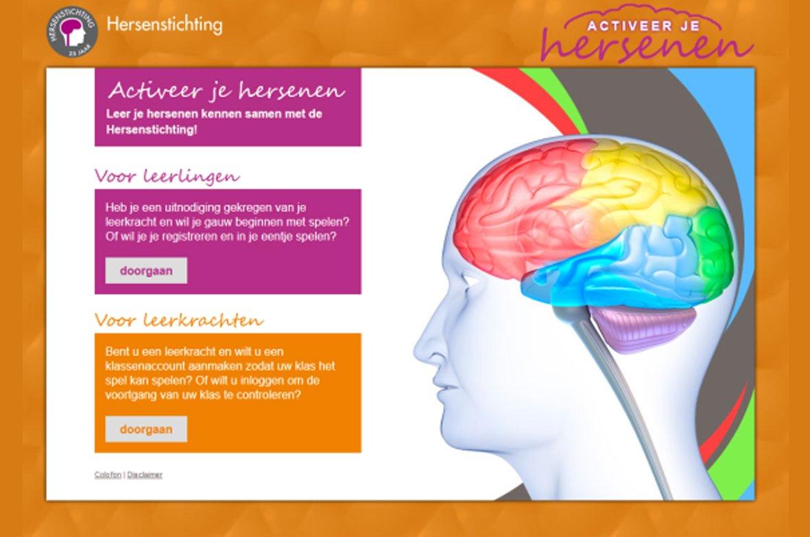 Nieuw gratis lesprogramma Activeer je hersenen!