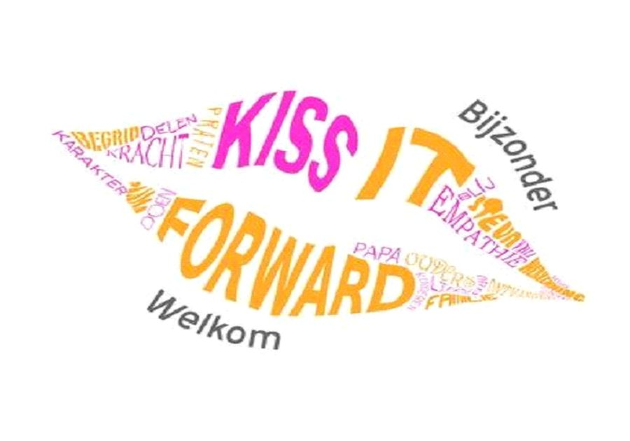 "Al gehoord van ""Kiss it Forward"""