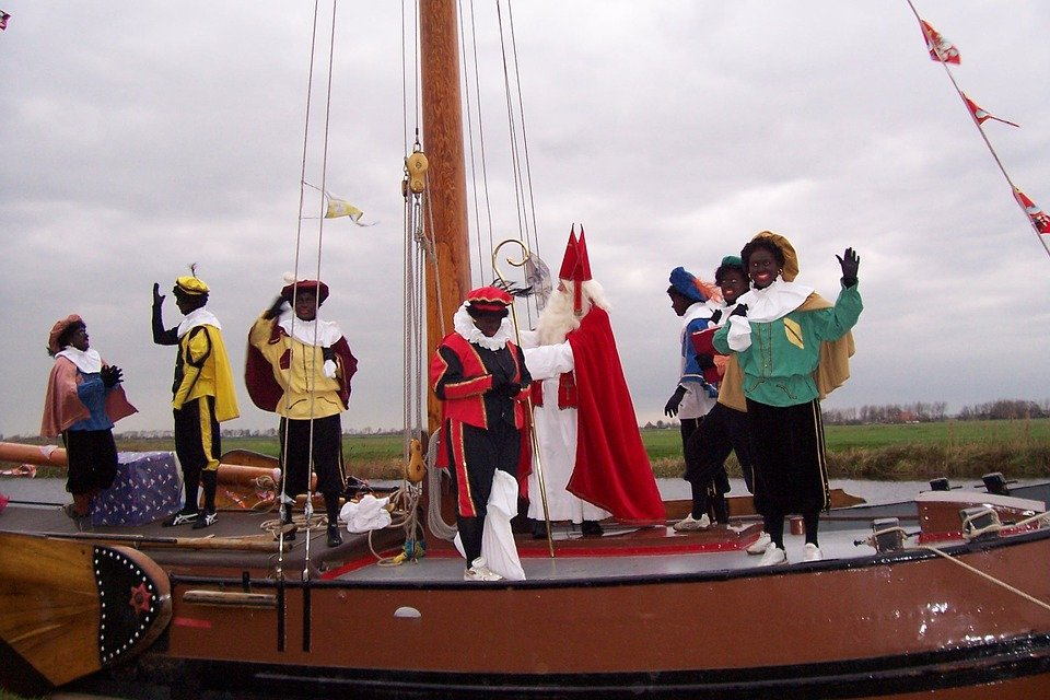 Sinterklaas komt toch met de boot?