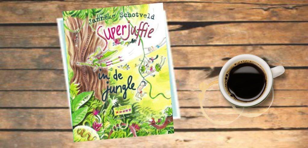 Boekentip | Superjuffie in de jungle