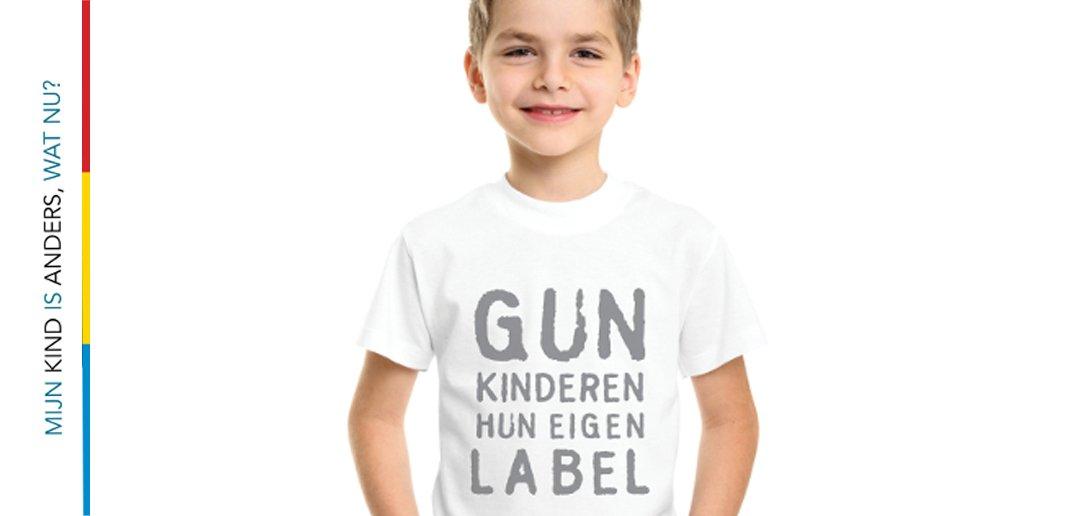 Gun kinderen hun eigenlabel