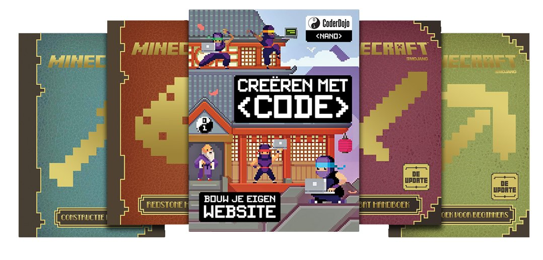 Creëren met code van CoderDojo