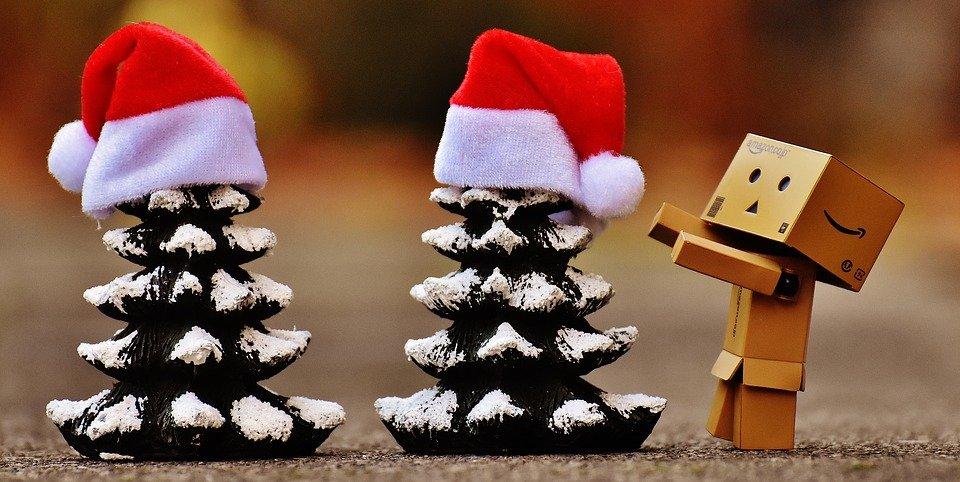 Kerstmis en tv-kantine