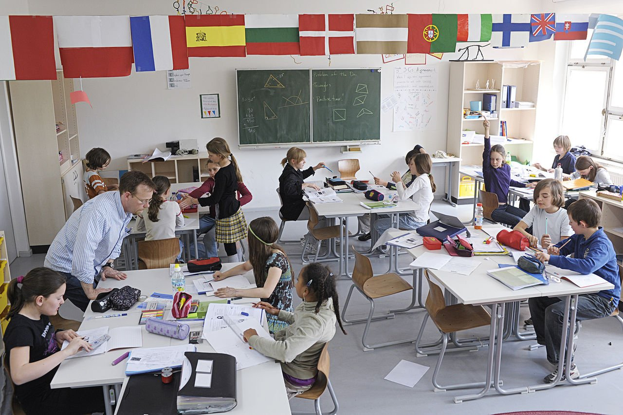 chaos in de klas