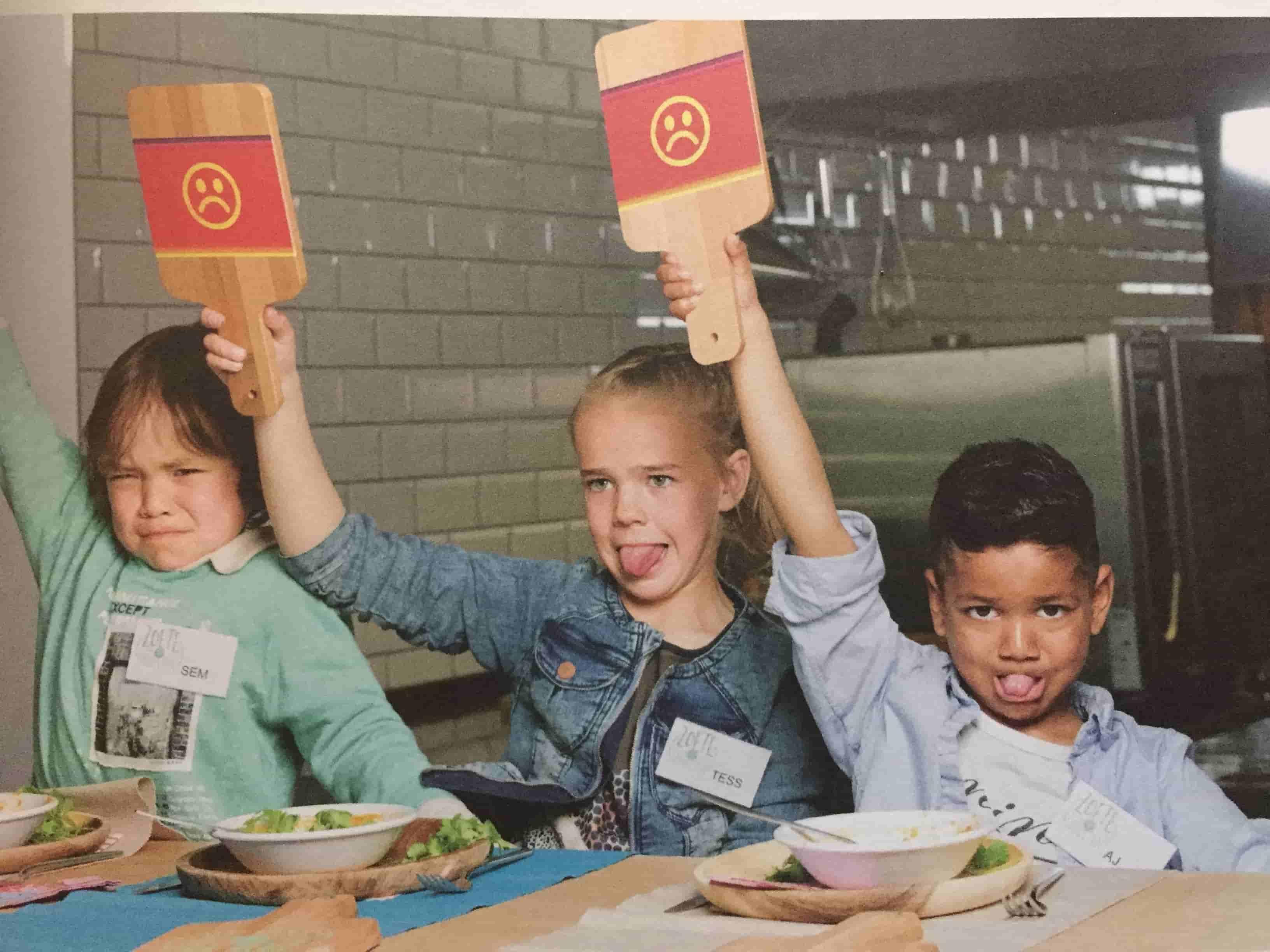 Geur en kleur, doet (bijna) elk kind eten