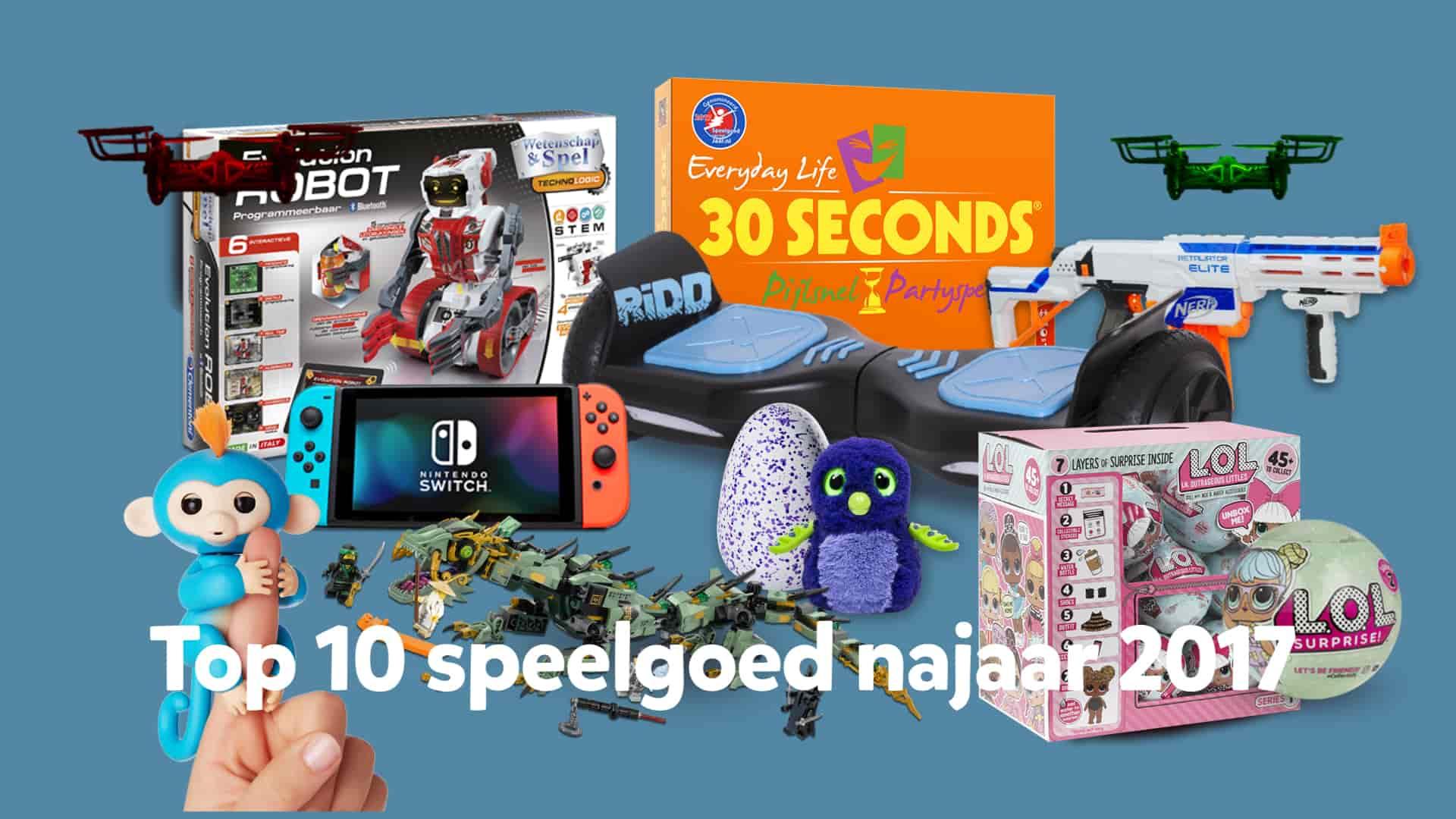 trends op speelgoedgebied:  Robotica en unboxing