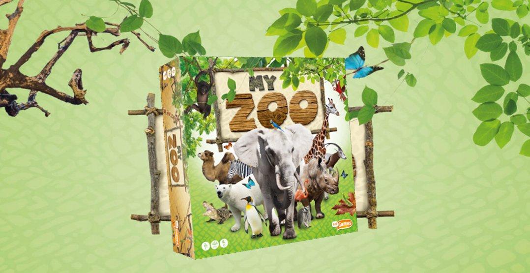 Nieuw bordspel: My Zoo