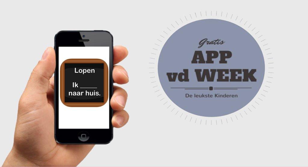 App van de week | Werkwoorden vervoegen