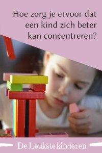 Concentreren kinderen