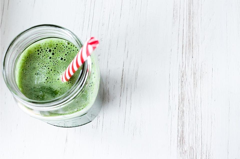 Groene smoothie voor kinderen