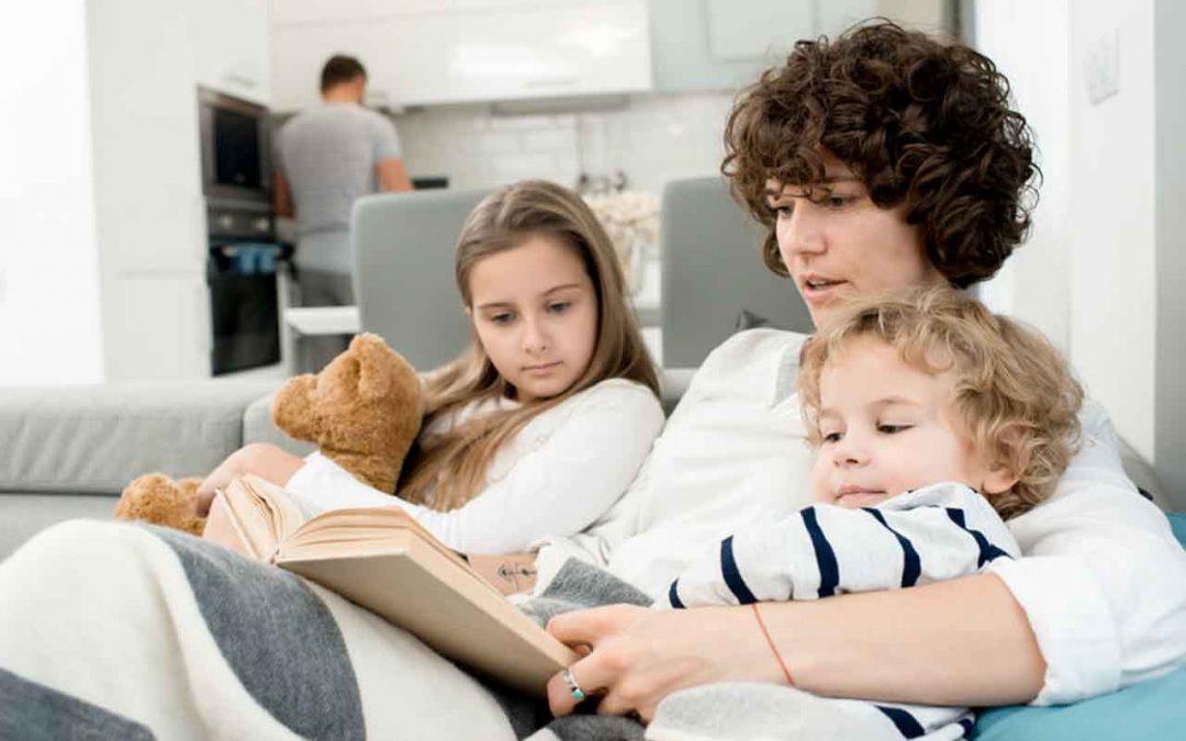 Het geheim van slimme kinderen: voorlezen!