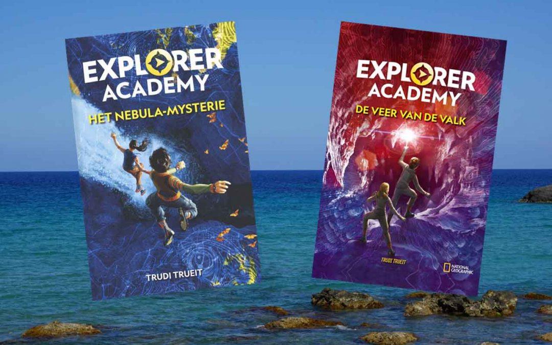 Twee fantastische boeken | Explorer academy