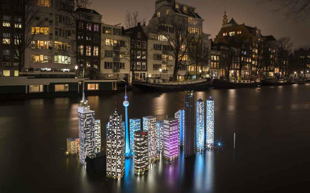 Achtste editie Amsterdam Light Festival van start!