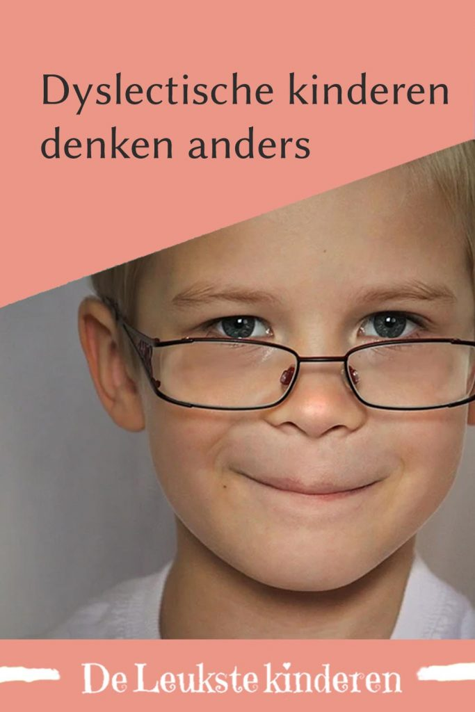 Dyslectische Kinderen Denken Anders