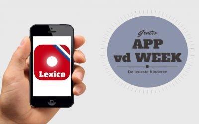 Lexico Cognitie een gratis app voor taalontwikkeling