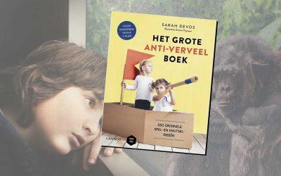 Het grote anti-verveel boek helpt je de vakantie door!